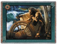 Personalized The Storm Pilot Tapestry Throw
