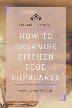 The kitchen can be the heart of the home as well as the busiest room in the house. This though can lead to cluttered kitchen cupboards. Click here to see some tips to help organise your cupboards as well as a sneak peak into mine!