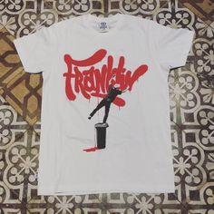 F&M camiseta  #franklin #fm #franklinandmarshall  #barcelona #camiseta #tee #tshirt #graffiti #bombing #barcelonashopping #passeigdegracia #tileaddiction #suelo ##hidraulico by 248barcelona