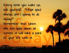 Live Life Today Wall Poster