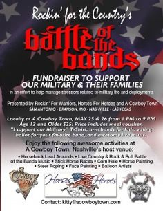 Battle of the Bands Fundraiser to Support Military and their Families ...