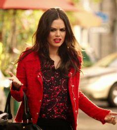 "Zoe's IRO Agnette Jacket""Hart of Dixie"" Season 3, Episode 18 ""Back in the Saddle Again"""