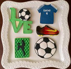 Fútbol del amor - Galletas de cumpleaños