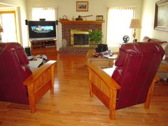 Classic Hardwood Floor In Living Room