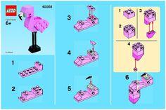 Promotional - Flamingo - Monthly Minibuild Aug 2013 [Lego 40068]
