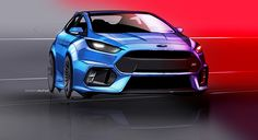 Ford Focus RS on Behance