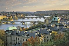 Tour of Central Europe with Airfare – Budapest, Vienna, and Prague Oh The Places You'll Go, Places To Visit, Prague Travel Guide, Travel Europe, Prague Castle, Prague City, Prague Czech Republic, Cheap Things To Do, By Train