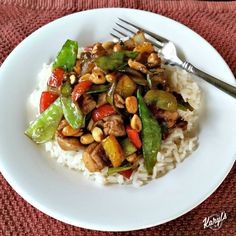 When you're craving Chinese food but don't want to go to a restaurant, make your own! This Kung Pao Chicken is full of wonderful flavor, color and textures.