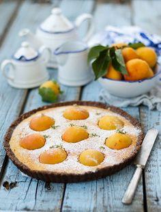 amande au chocolat Tarte aux abricots par Julicious sur Flickr.