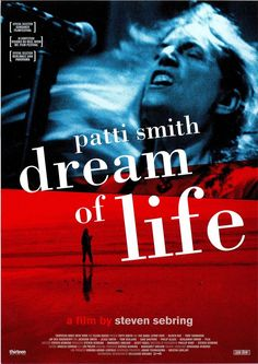 PATTI SMITH - DREAM OF LIFE - Lenny Kaye, Oliver Ray - 2008 ORIG. FILMPOSTER A4