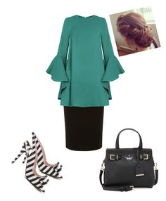 """""""Untitled #561"""" by brendansara1018 ❤ liked on Polyvore featuring Dorothy Perkins and Kate Spade"""