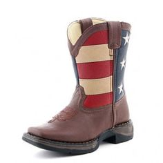 These are pretty cute too!  DURANGO UNION FLAG COWBOY BOOTS