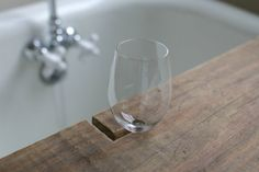 Over on eHow: DIY Reclaimed Wood Bath Caddy | 17 Apart: Over on ...
