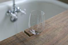 Over on eHow: DIY Reclaimed Wood Bath Caddy | 17 Apart: Over on ...