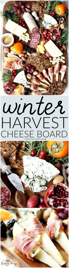 winter harvest cheese board | The Baking Fairy #CheeseBoardChallenge
