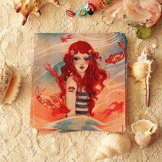 Postcard   Pirate by MinaSmoke on Etsy