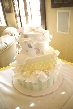 baby shower gift boxes | Flickr - Photo Sharing!