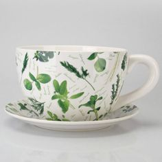 Sweet cup and saucer