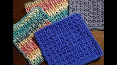 If you are looking for a newbie friendly, super fast and easy crochet dishcloth pattern that Easy Crochet, Free Crochet, Crochet Bags, Dishcloth Crochet, Spritz Cookies, Last Stitch, Crochet Kitchen, Crochet Patterns, Crochet Ideas