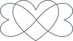 Triple infinity heart tat | Future tattoo ideas | Pinterest
