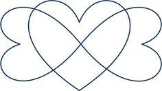 Triple infinity heart tat   Future tattoo ideas   Pinterest