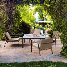 Refresh the look of your patio with Swanson's Fireplace & Patio. For the highest quality outdoor furniture and the nation's top brands, call Outdoor Rooms, Outdoor Tables, Outdoor Living, Outdoor Decor, Patio Tables, Outdoor Seating, Pool Patio Furniture, Outdoor Wicker Furniture, Contemporary Dining Sets