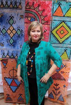 Peinture bérbére  Artiste Peintre Olga Leila Moroccan Art, Leila, Unalome, Baltic Sea, Dali, Marrakech, Motifs, Salvador, Montreal