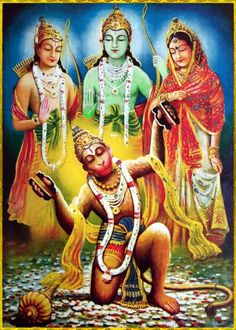 "☀ SHRI HANUMAN ॐ ☀ Please listen to ""Bhagavad Gita as it is"" online: http://gitopanishad.com/"
