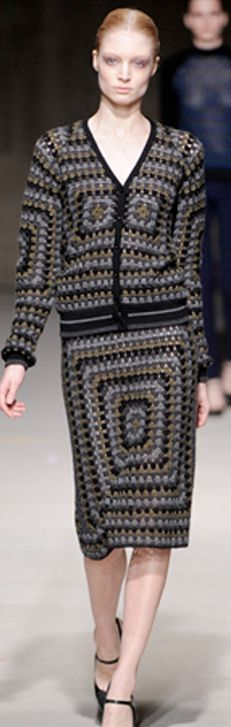 Christopher Kane crochet skirt - Buscar con Google