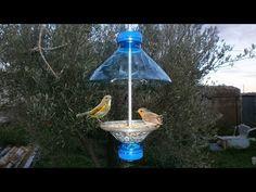 Como Hacer un Comedero para Pajaros / Comedero Aves - YouTube