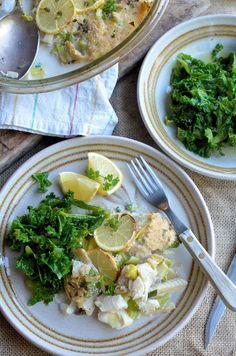 Low Calorie Fish and Leek Pie