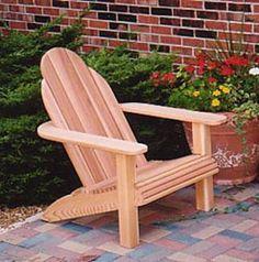 adirondack chair plans | Modern Adirondack Chair Plans - the Cape Cod'r