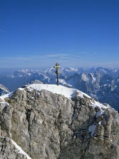 Zugspitze Peak 2963M, Highest Mountain in Germany, Bavaria