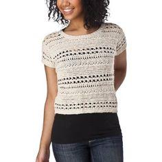 Mossimo Crochet Sweater Vest - 6.98