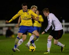 Jenkinson for Arsenal U21's vs Fulham 2013-2014.