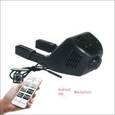 For LIFAN 620 Car Parking Camera APP Control Car Wifi DVR Driving Video Recorder Dual Lens Car Black Box camcorder Novatek 96658