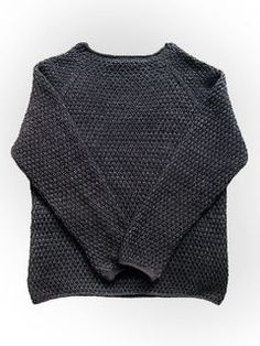 """English translation: BIG ALFRED'S by Britta Wilfert The sweater is worked top-down SIZE: S (M) L BUST: 98 (104) 108 cm LENGTH: 63 (65) 66 cm YARN: """"Pisa"""" (100% organic wool/ 50 g = 105 m) 450..."""