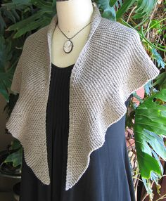 To Eyre ... by Carol Sunday, in worsted. Simple 1800's style ruffled garter stitch shawl in 4 versions.