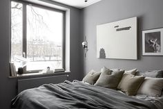 AMM blog | An apartment in teak and grey, Eastmansvägen 8B