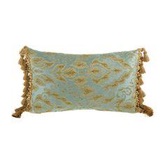 Fantasia Aqua Pillow Canaan Company Accent Pillows Throw Pillows Bedding