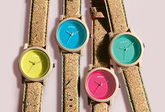 Sprout watches with cork straps under $100 at #nordstrom