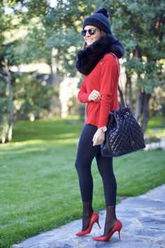 9pzmybxdq8mt0vgq8zq_thumb_d822d Nice Outfits, Work Outfits, Winter Outfits, Leggings, Tights, High Heel Models, 1920s Hair, Zara, Woman Fashion