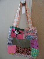 Zaanse Zolder: I ♥ Recycling Bag made of shirts