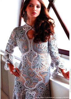Tunic or dress - Irish crochet