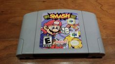 Check out this item in my Etsy shop https://www.etsy.com/listing/222062824/super-smash-bros-nintendo-64-n64-video