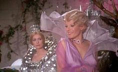 "Delphine Seyrig as the Fairy Godmother in Jacques Demy's ""Peau d'Ane."""