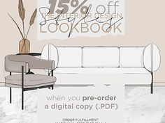 Pre-Order for The Interior Design Styles E-Book (PDF ONLY) | aseelbysketchbook
