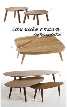 Em busca de uma nova mesa de centro estilosa para compor a decoração!