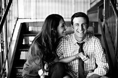 Love their shots!! Engagement pics