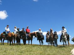 Exploring the Colorado Rockies on horseback is not a bad way to spend 6 days.